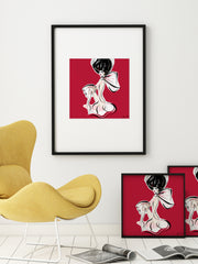 Cabaret Drama - Illustration - Limited Edition Print - Tiffany La Belle