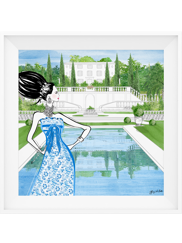 Chanel Haute Couture Spring - Illustration - Limited Edition Print - Tiffany La Belle