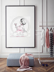 Cheers Darlings - Illustration - Limited Edition Print