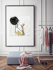 Cocktail Hour - Illustration - Limited Edition Print - Tiffany La Belle