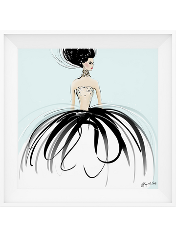 Couture Gems - Illustration - Limited Edition Print