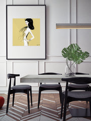 She's All Style - Illustration - Limited Edition Print - Tiffany La Belle