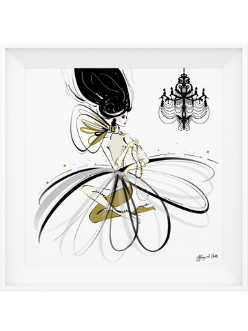 For the Love of Pearls - Illustration - Limited Edition Print