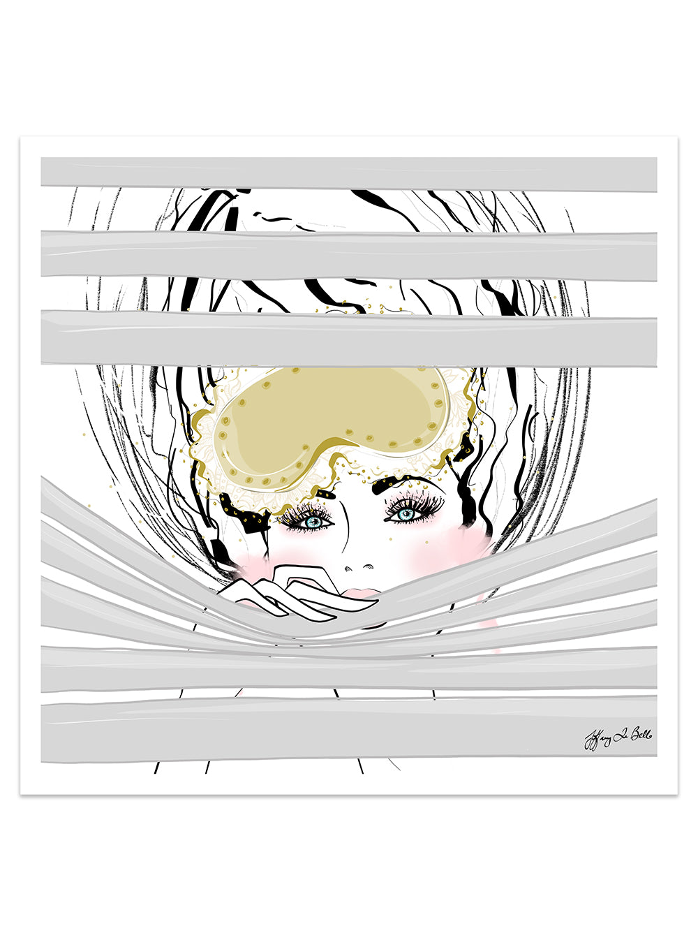 Good Morning - Illustration - Limited Edition Print - Tiffany La Belle