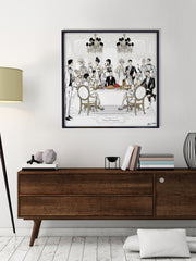 Happy Thanksgiving - Illustration - Limited Edition Print - Tiffany La Belle