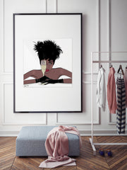 I See You - Illustration - Limited Edition Print - Tiffany La Belle