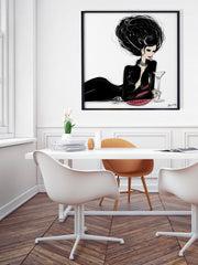 Martini Moments - Illustration - Limited Edition Print - Tiffany La Belle
