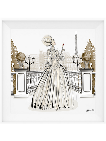 Paris Fashion Week Haute Couture - Illustration - Limited Edition Print - Tiffany La Belle