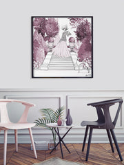 Parisienne Mulberry Garden - Illustration - Limited Edition Print - Tiffany La Belle