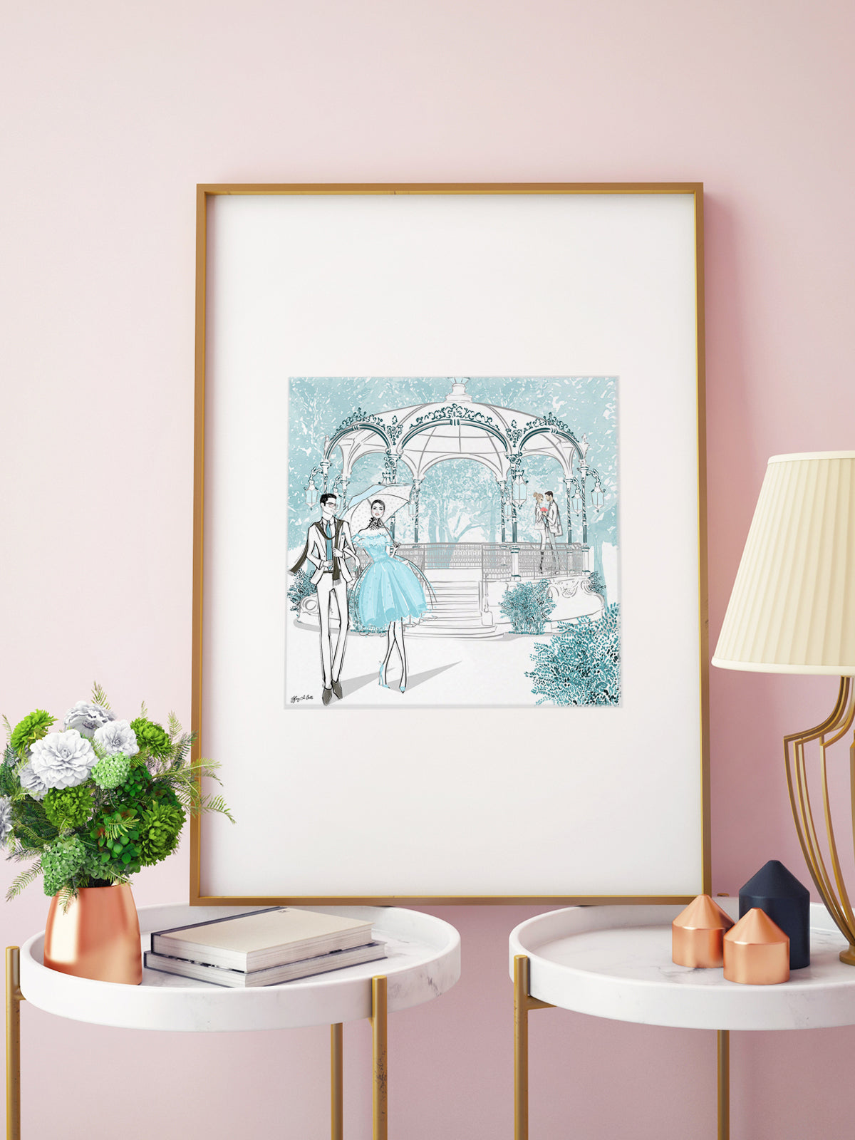 Young Lovers - Illustration - Limited Edition Print