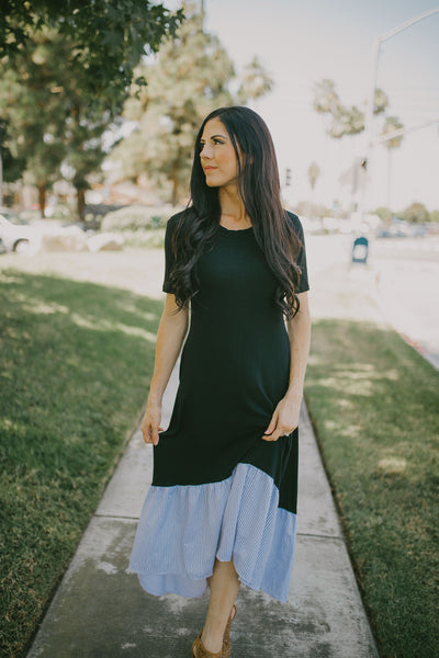 The Quinn Hi Low Maxi Dress