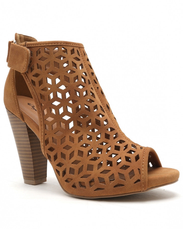 Perforated Ankle Boot