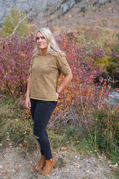 Brittany Shirt in Olive