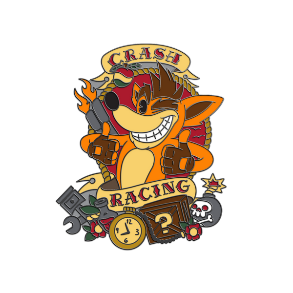 Crash Racing Pin