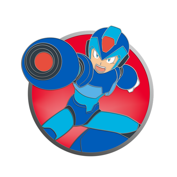 Mega Man X Pin