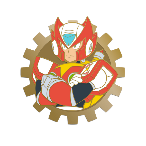 Mega Man X Zero Pin