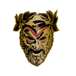 Cult Mask Pin