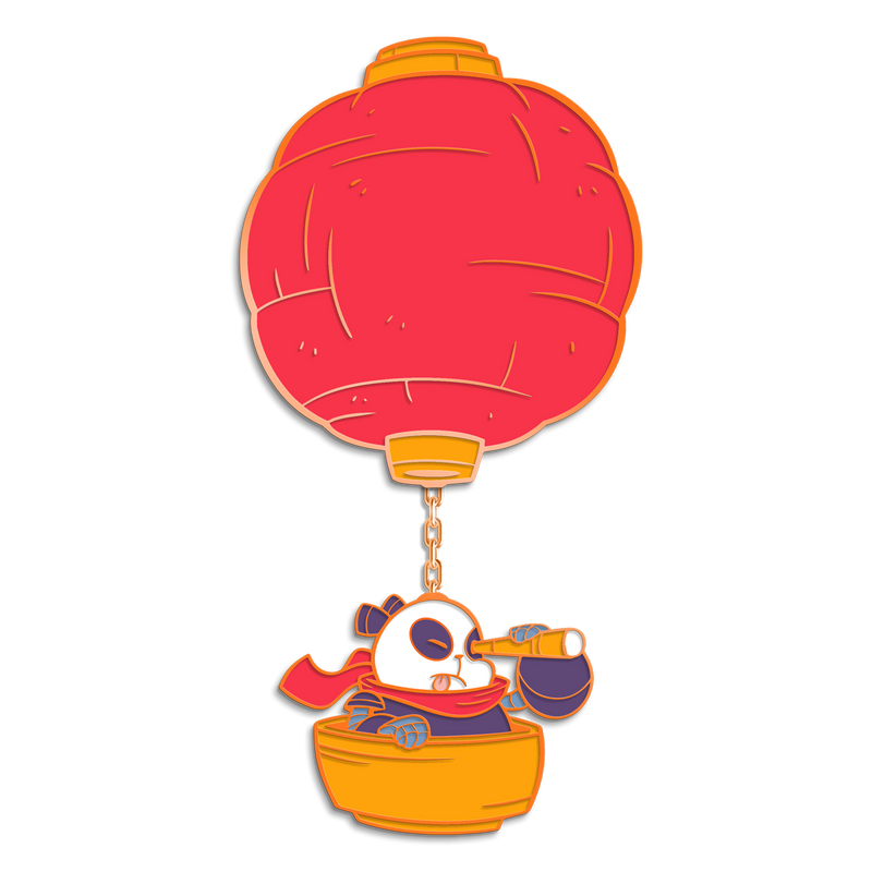 Pang Air Balloon Pin