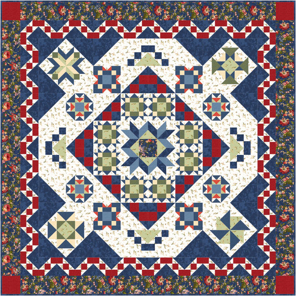 Zoom class for Belle Blooms Block of the Month