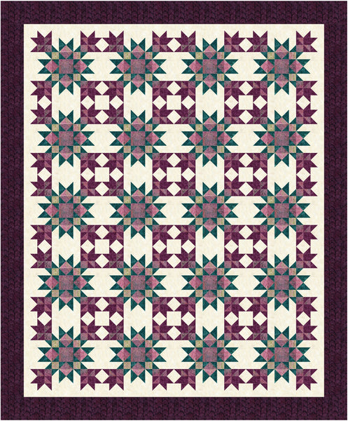 Crowned Stars Pattern #194