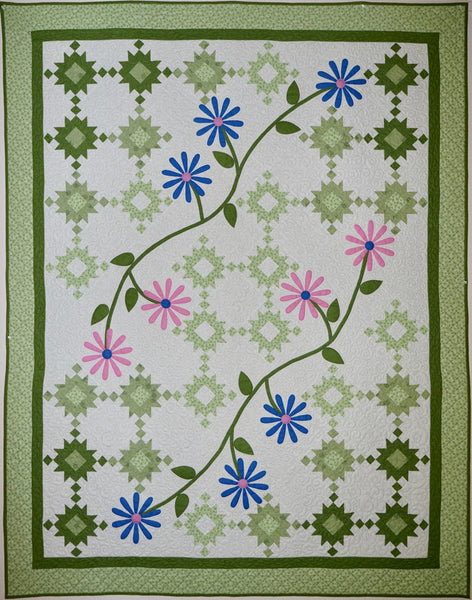 Garden Path Daisies Pattern #127