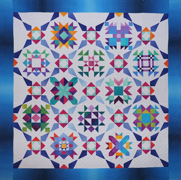 Incandescence Block of the Month pattern