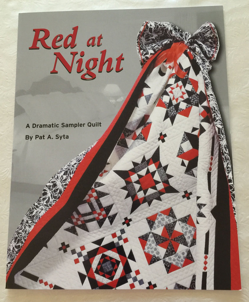 Red at Night - A Block of the Month Book