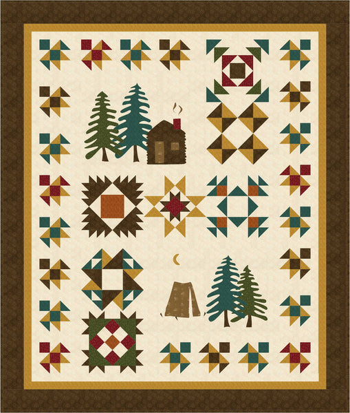 Time In The Pines Block of the Month pattern #171