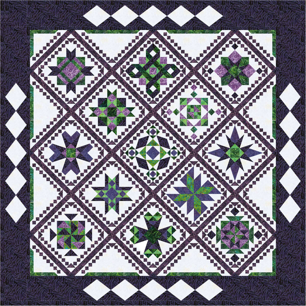 Runaway Block of the Month pattern