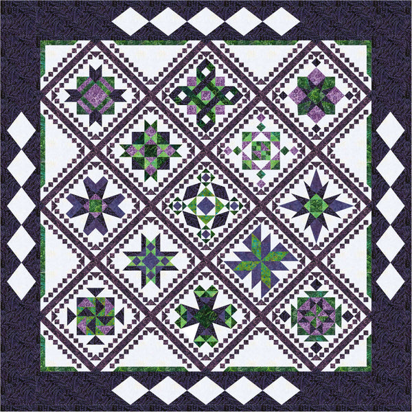 Runaway Block of the Month pattern #140