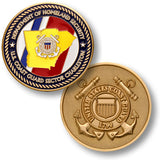 Coast Guard Sector Charleston  Challenge Coin Credential Case - MaxArmory