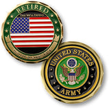 Retired - U.S. Army Challenge Coin Credential Case - MaxArmory