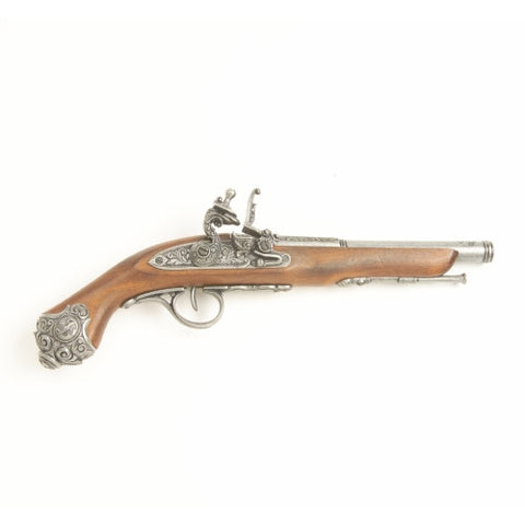 Denix Colonial 18th Century Flintlock Pistol - Non-Firing Replica Gun