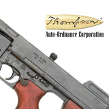Denix M1928 THOMPSON SUBMACHINE GUN - Military Model (Not Resin) - MaxArmory