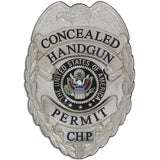 435 Concealed Handgun Mini Badge Permit Set - Anniversary Edition - MaxArmory