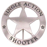 Single Action Shooter Badge