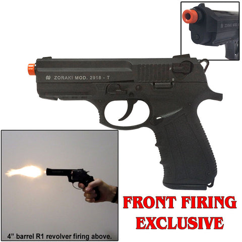 M2918 Black - Blank Firing Replica Gun- Includes 25 Rds of Ammo