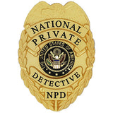 435 National Private Detective Badge