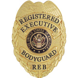 435 Registered Executive Body Guard Badge