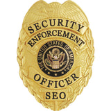 435 Security Enforcement Officer Badge
