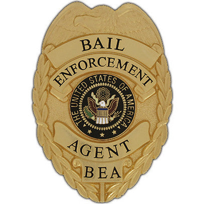 435 Bail Enforcement Agent Badge Set