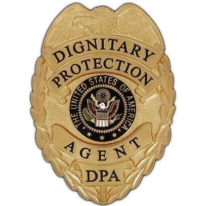 435 Dignitary Protection Agent Badge Set - MaxArmory