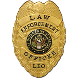 435 Law Enforcement Officer Badge Set - MaxArmory
