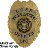 435 Loss Prevention Officer Badge Set - MaxArmory
