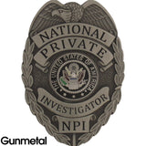 435 National Private Investigator Badge Set