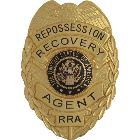 435 Repossession Recovery Agent Badge Set