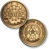 Thunderbirds 50 Anniversary Challenge Coin Credential Case - MaxArmory