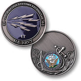 Navy Information Systems Challenge Coin Credential Case