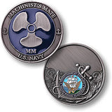 Navy Machinist's Mate Challenge Coin Credential Case - MaxArmory