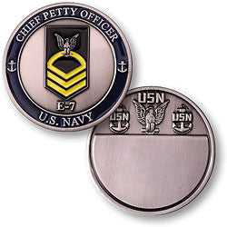 Navy Chief Petty Officer Challenge Coin Credential Case - MaxArmory